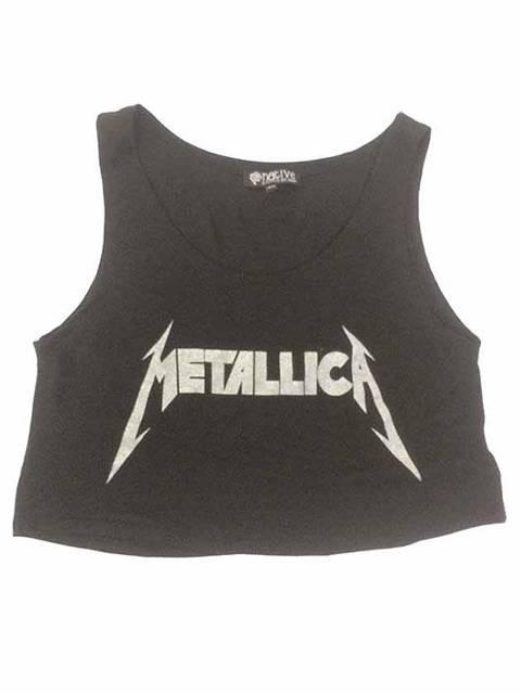 Metallica logo negra