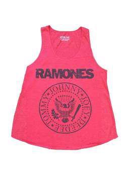 Ramones logo fuxia