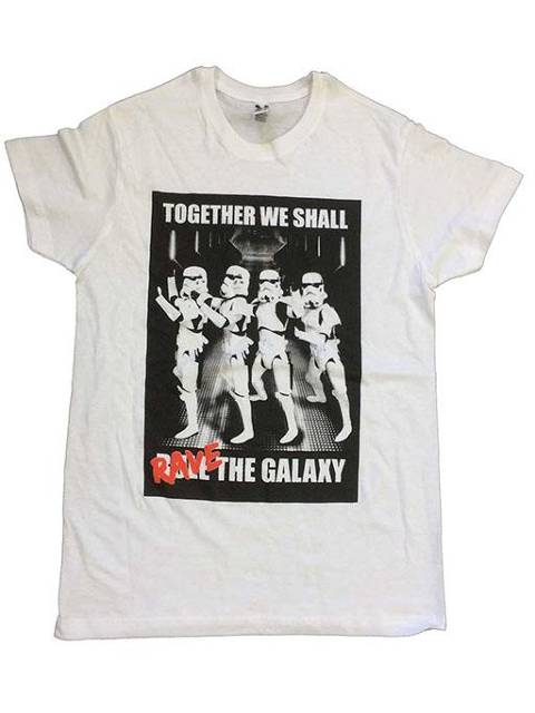 Together we shall rave the galaxy