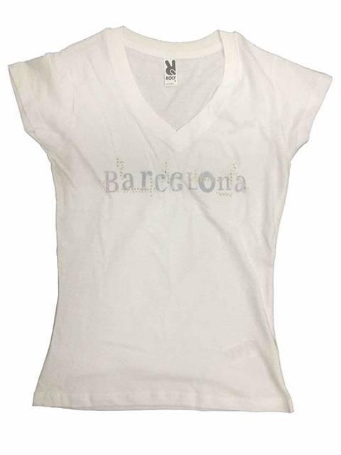 Barcelona letras blanca