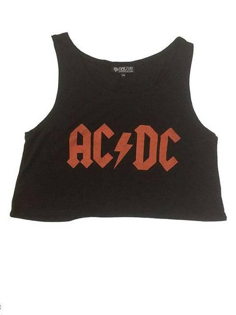Ac Dc logo negra
