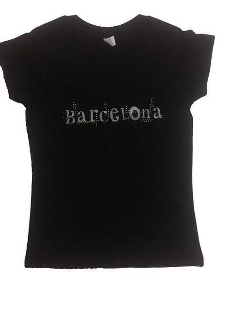 Barcelona letras negra