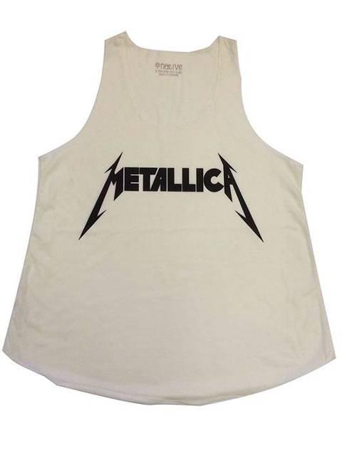 Metallica logo beige