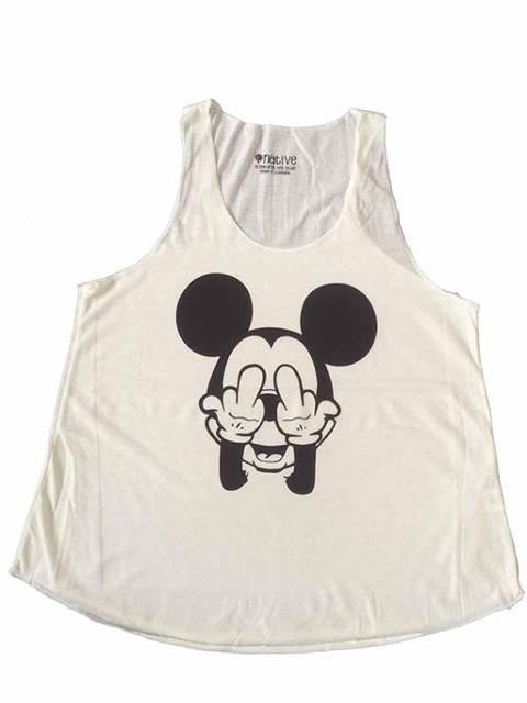 Mickey peineta beige