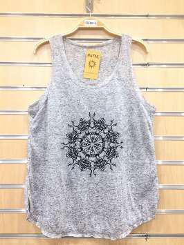 Corona tribal gris