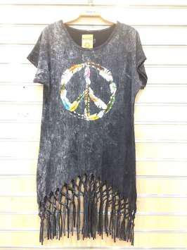 Paz hippie negra