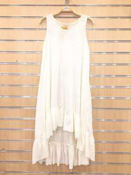 Vestido camiseta blanco