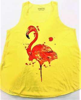 Flamenco amarilla
