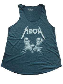 Meow Metallica azul