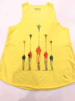 Jirafas amarilla