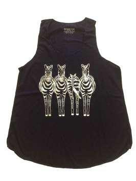 Zebras azul