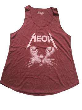 Meow Metallica roja