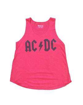 AC/DC logo fuxia
