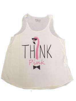 Think Pink blanca