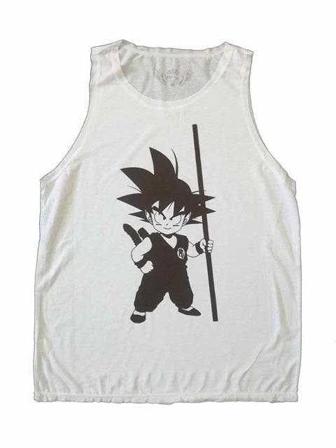Goku clásico blanca