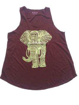 Elefante marrón