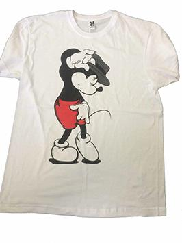 Mickey Moonwalker blanca