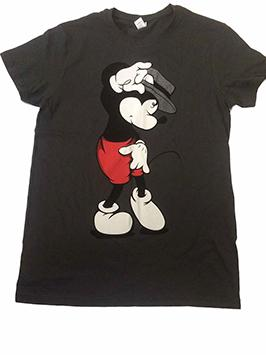 Mickey Moonwalker negra