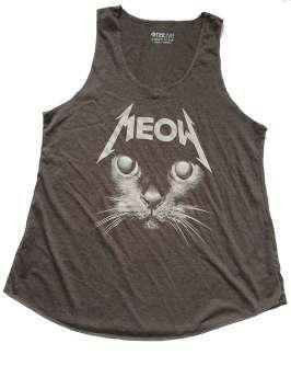 Meow Metallica negra