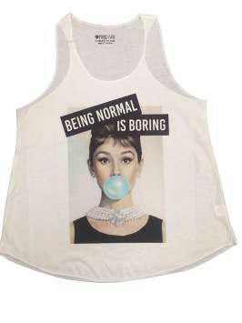 Being normal is boring blanca