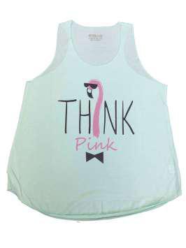 Think Pink turquesa