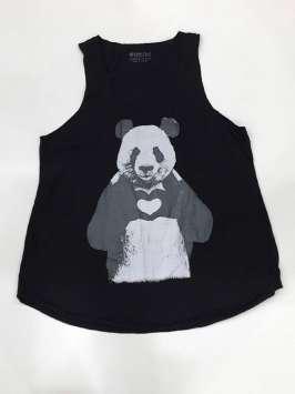 Happy panda negra