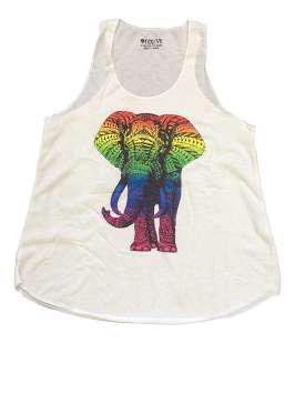 Elefante arcoíris