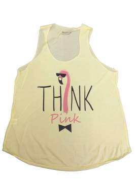 Think Pink amarilla